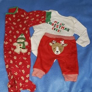 4/$24 - Carter's Christmas Baby Clothes